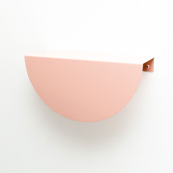 Arc Shelf | Blush Pink