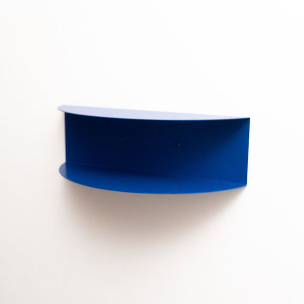 Arc Double Shelf | Cobalt Blue