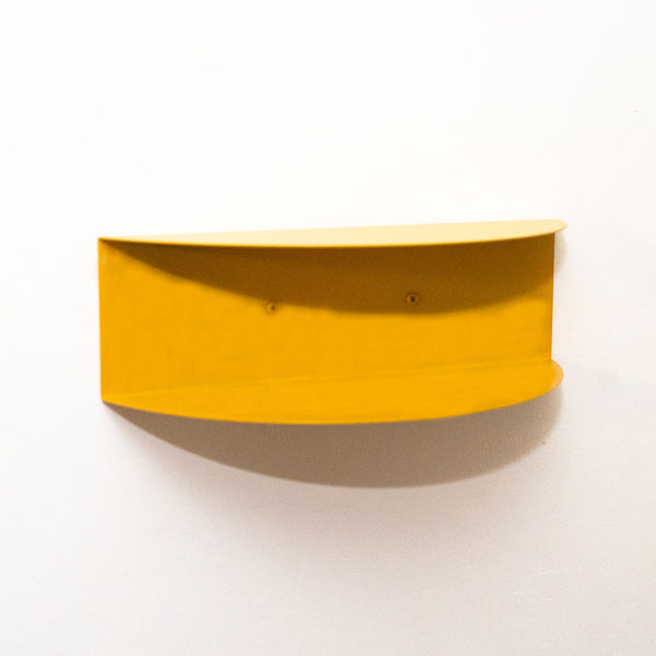 Arc Double Shelf | Mustard Yellow
