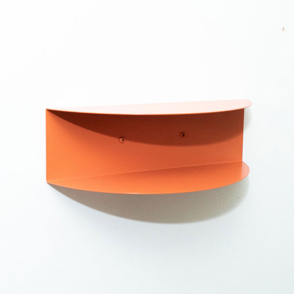 Arc Double Shelf | Coral Orange
