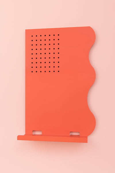 Memo Board Coral Orange (Portrait)