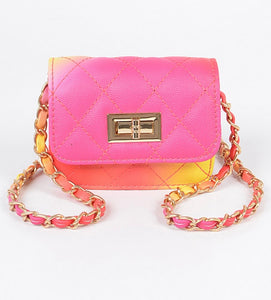 Mini Multicolor Crossbody Bag