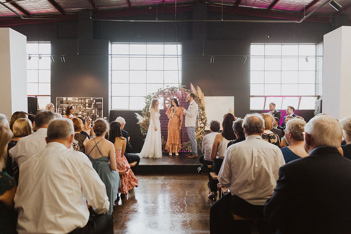 An Art Gallery Wedding