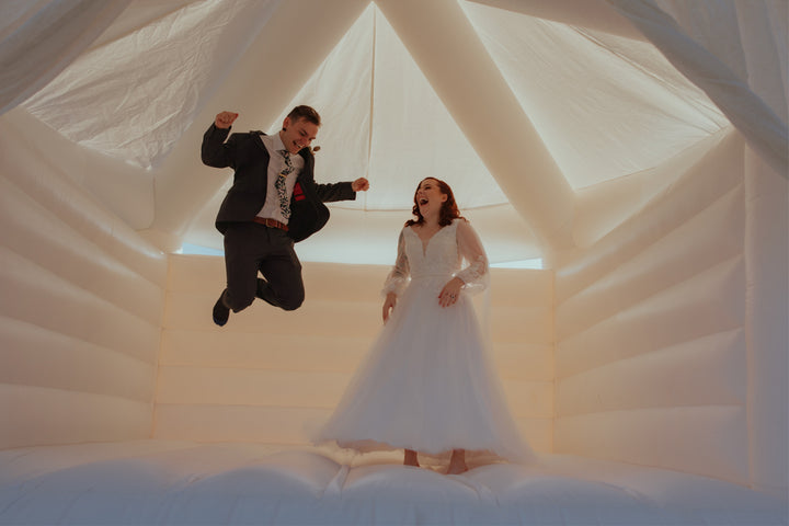 Jumping Castle Wedding