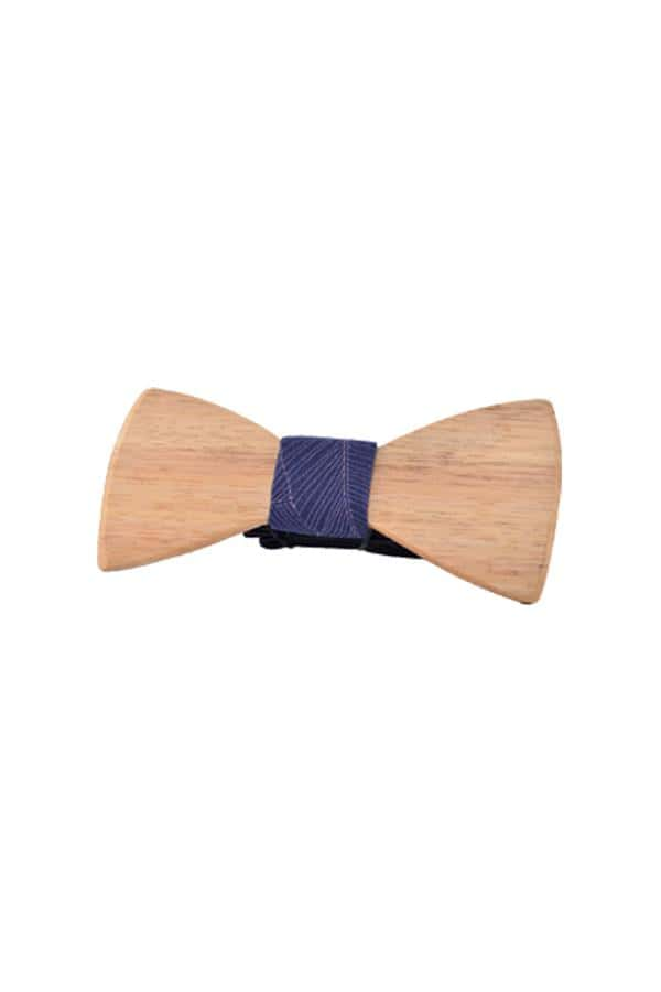 Wooden Bow Tie Banana Palm