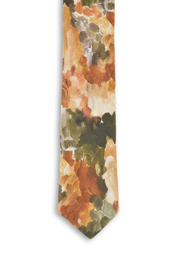 Cotton Tie - Native Bark