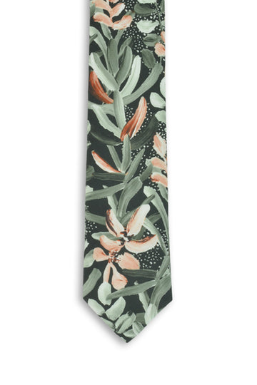 Cotton Tie - Protea Green