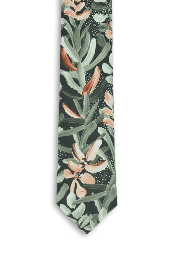 Wedding Tie - Protea Green