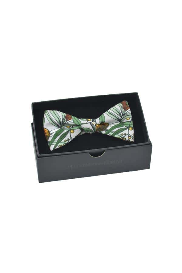 Bow Tie Banksia Grey Packaging