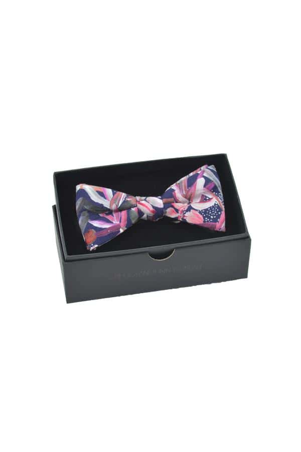 Bow Tie Protea Navy Packaging