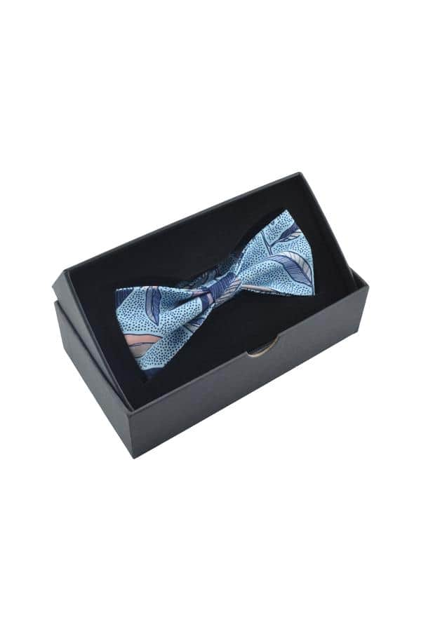 Eucalyptus_Cotton_Bow_Tie_Blue_Men's