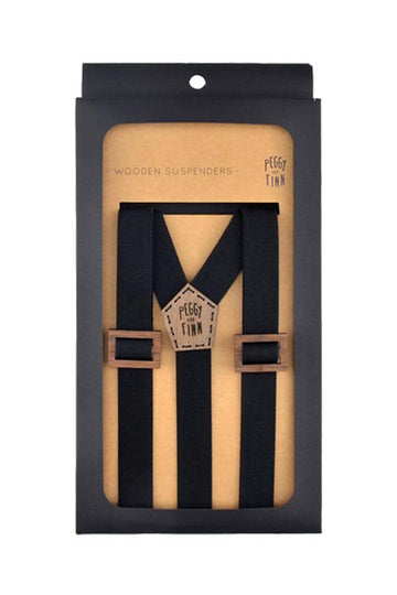 Wooden Suspenders Fergus Wedding