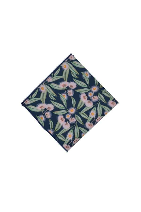 Pocket Square Flowering Gum Florals