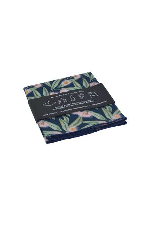 Pocket Square Flowering Gum Menswear