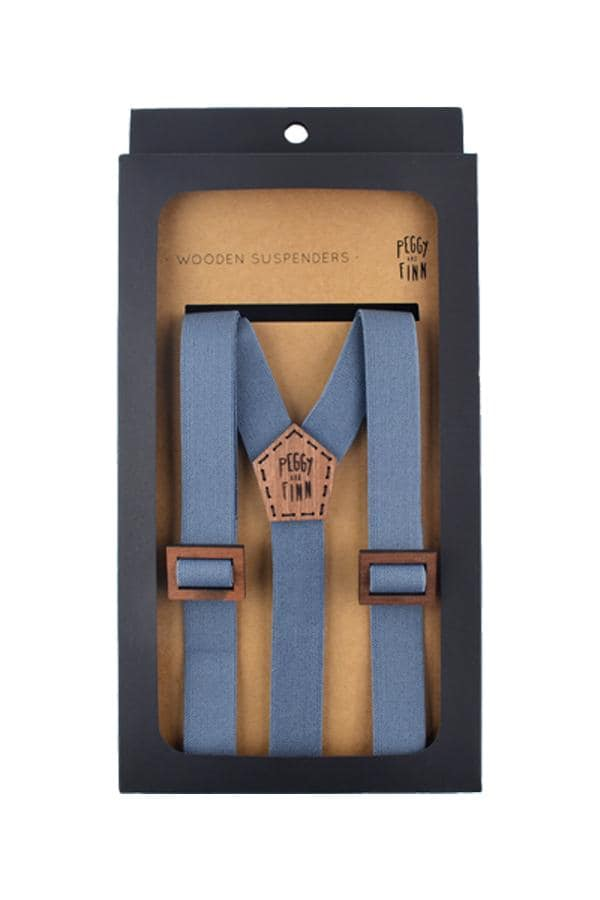 Wooden Suspenders Harry Groomsmen
