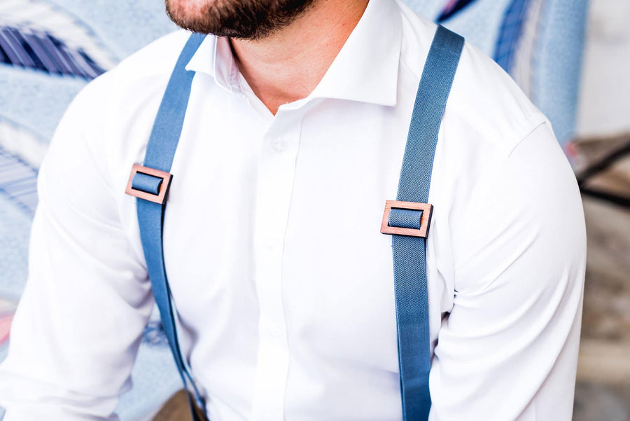 Wooden Suspenders Harry Menswear