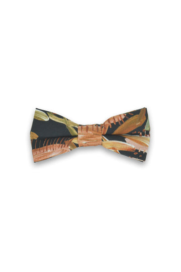 Kids Bow Tie - Grass Tree Black