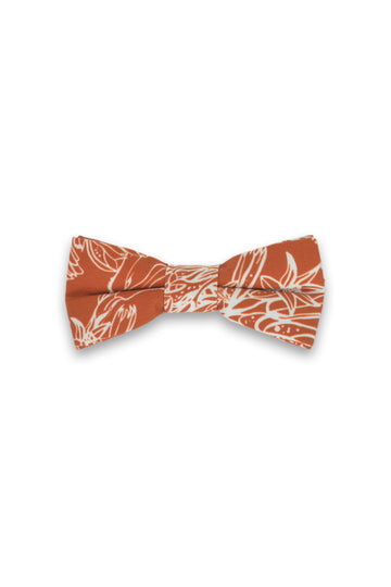 Kids Bow Tie - Kangaroo Paw Burnt Orange