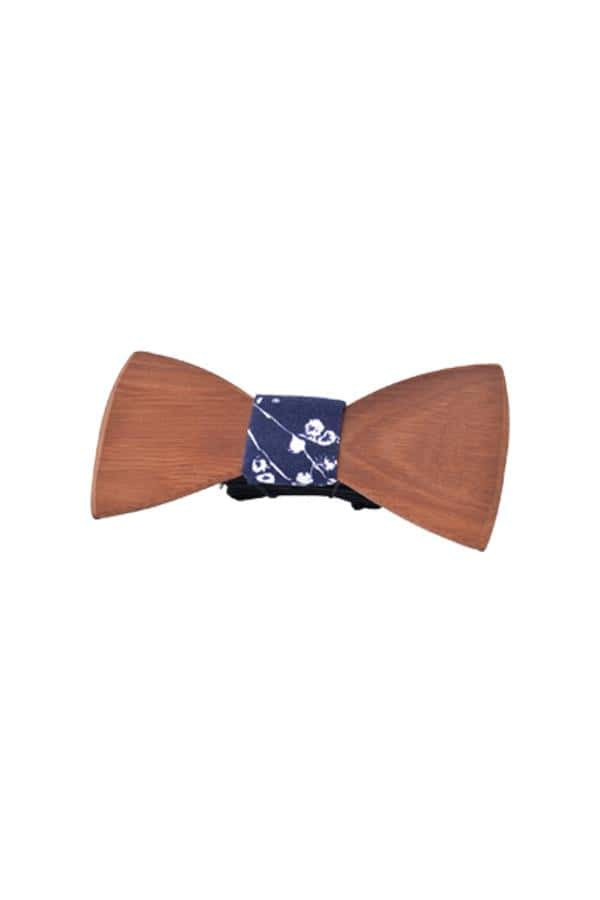 Wooden Bow Tie Natives Light Wood