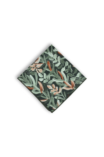 Pocket Square - Protea Green