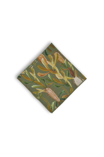 Pocket Square - Grass Tree Sage