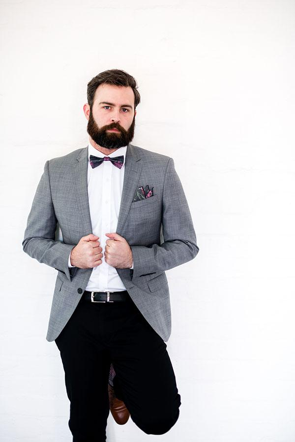 Pocket Square - Waratah