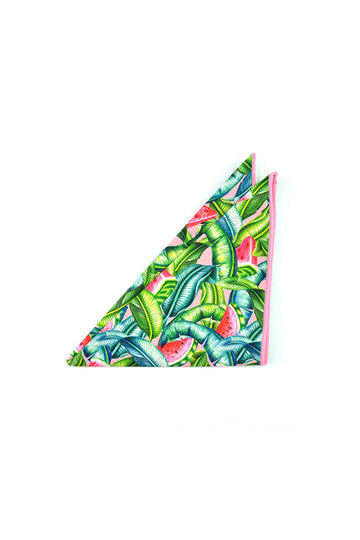 Pocket Square - Watermelon