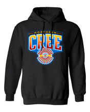 Load image into Gallery viewer, Northern Cree Hoodie (Black)