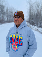 Load image into Gallery viewer, Northern Cree Hoodie (Athletic Heather)