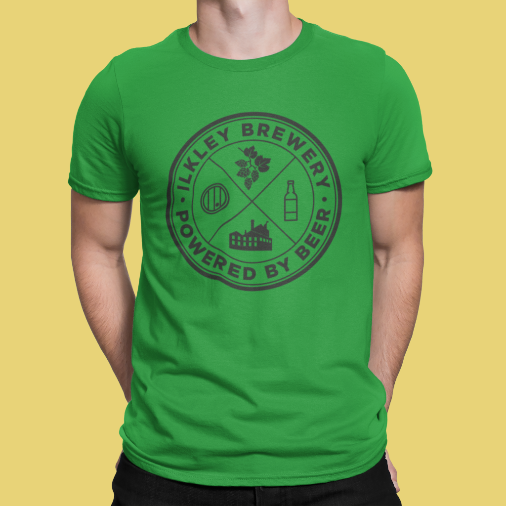 Powered By T-Shirt Green