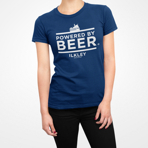 Powered By T-Shirt Navy Women's