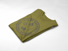 Load image into Gallery viewer, Heraldic T-Shirt Olive