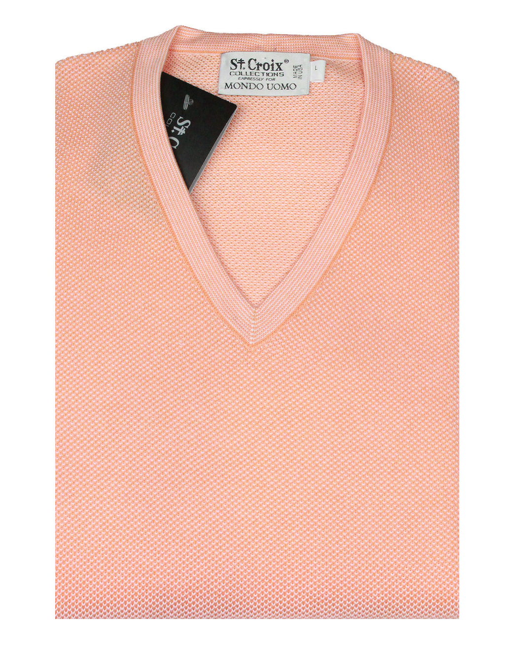 St Croix Sweater V Neck Nectar