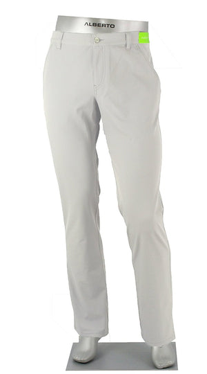 ALBERTO GOLF 3X DRY PANT LIGHT GREY 5535
