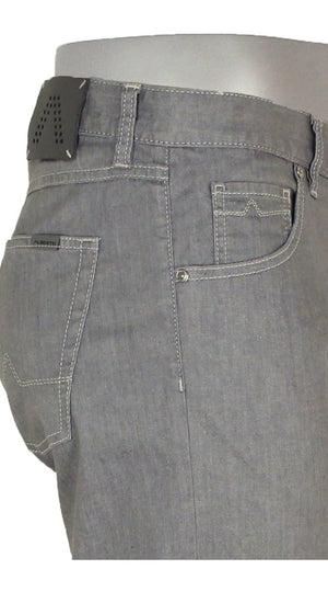 DENIM STONE SUPER STRETCH LIGHT GREY