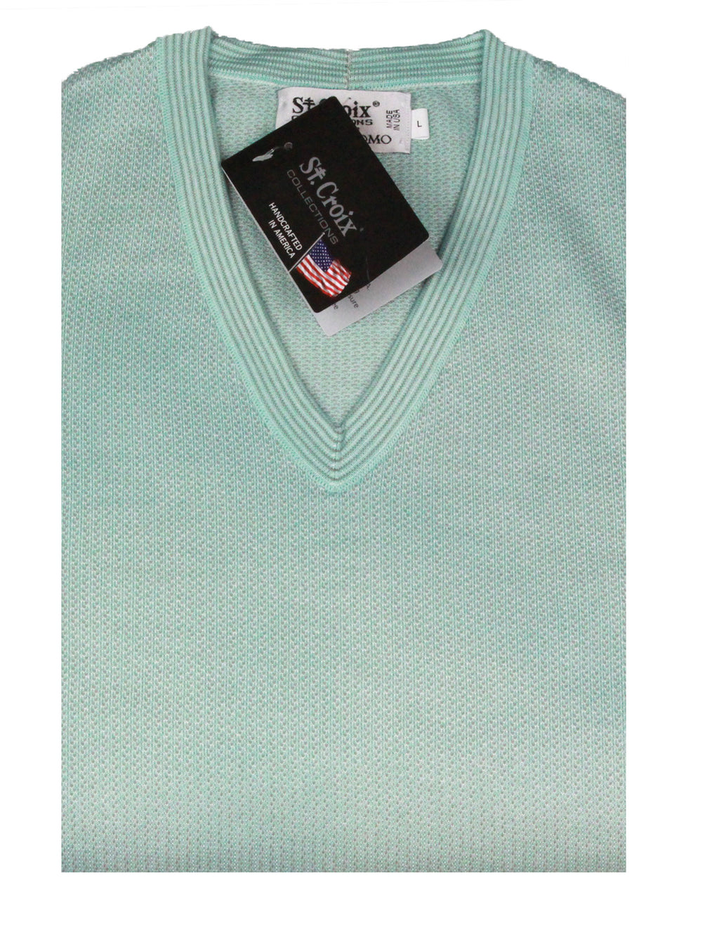 St Croix Sweater V Neck Breeze