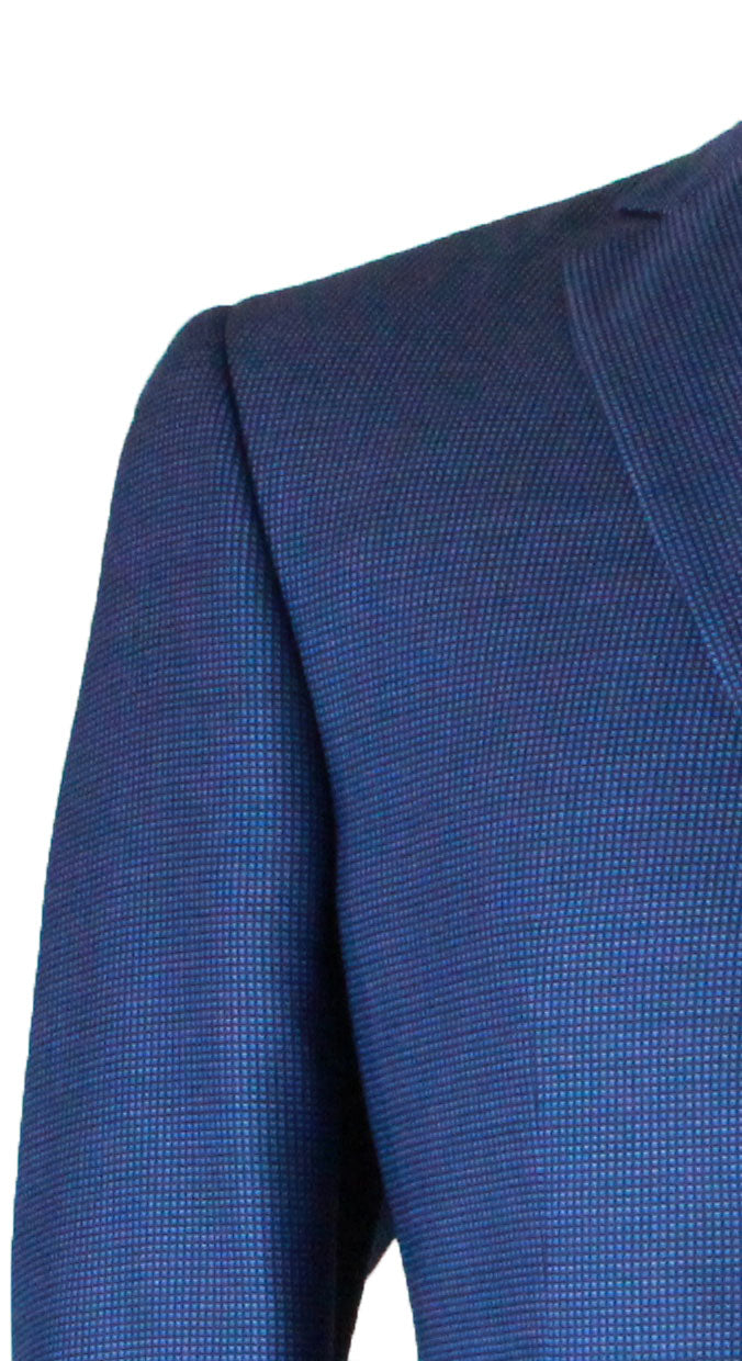 Jack Victor Navy Mini Check