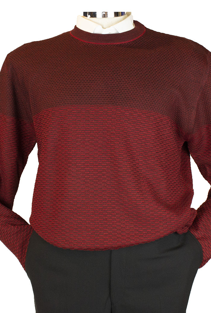 Marcello Crew Sweater Burgundy