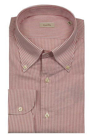 Zanella Cotton-Red Stripe