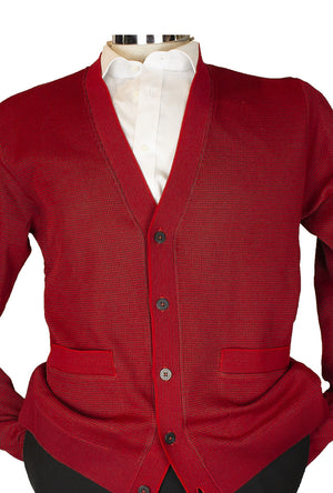 St Croix-1724-Cardigan-Red/Navy