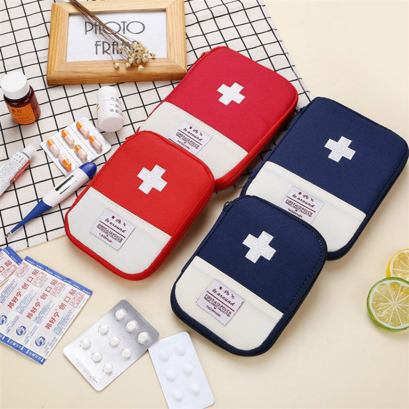 Portable Storage Bag First Aid Emergency Medicine Bag Outdoor Pill Survival Organizer Emergency Kits Package Travel Accessories