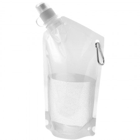 Cabo water bag, transparent, 14 x 28,2 x d: 3,3 cm