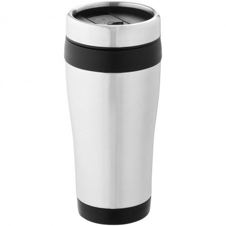 Elwood insulated tumbler, grey, 17,6 x d: 8,3 cm