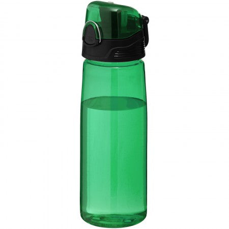 Capri sports bottle, green, 25 x d: 7,7 cm