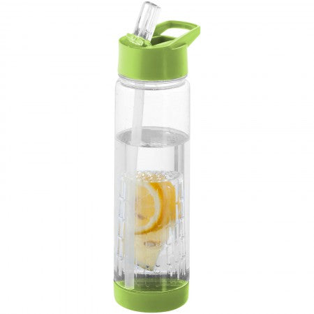 Tutti frutti bottle with infuser, lime