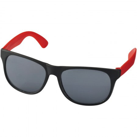 Retro Sunglasses, solid black, 13,5 x 14 x 4,9 cm