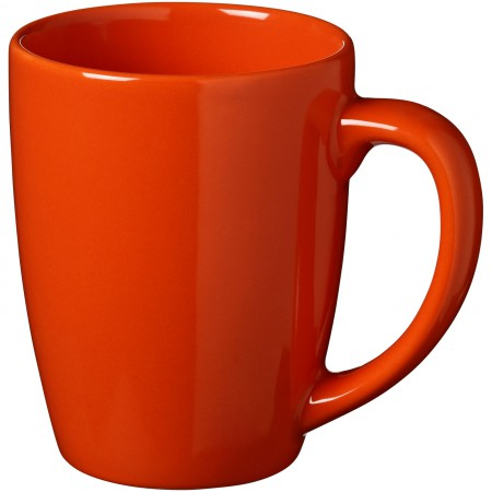 Medellin ceramic mug, orange, 11 x d: 8,4 cm