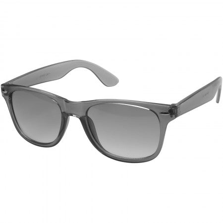 Sun Ray sunglasses - crystal lens, solid black, 14,5 x 15 x