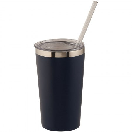 Thor copper vacuum insulated tumbler, blue, 15 x d: 8,8 cm