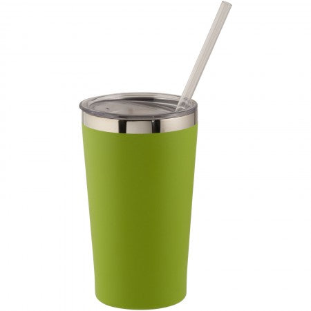 Thor copper vacuum insulated tumbler, green, 15 x d: 8,8 cm